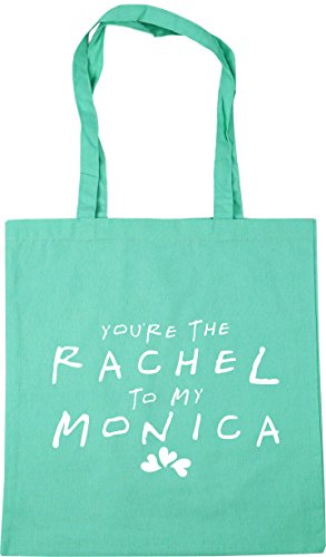 HippoWarehouse litres the Beach Shopping Bag Gym You're to Monica Tote my 42cm x38cm 10 Rachel Mint SrwS6AqB