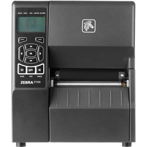 Zebra Zt230 Direct Thermal/Thermal Transfer Printer . Monochrome . Desktop . Label Print . 4.09