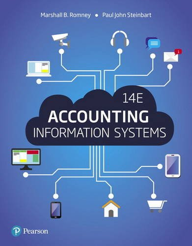 Accounting Information Systems (14th Edition) by Pearson