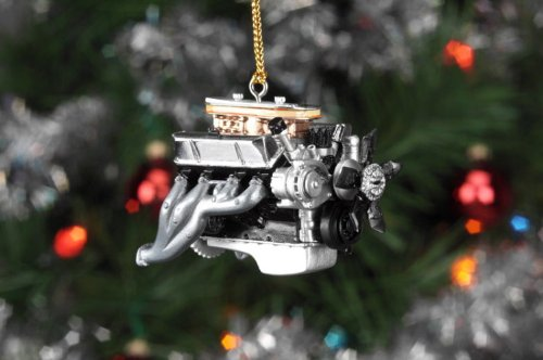 Liberty Classics Ford 427 Wedge Engine Ornament, 1/18th Scale Resin