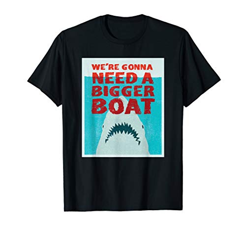 We're Going to Need a Bigger Boat - Illustrated Shark Shirt ()