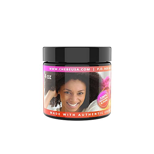 Chebe PASTE Black Hair Growth Treatment for Long, Healthy Tresses, 100% Natural and Pure 4 OUNCES ()