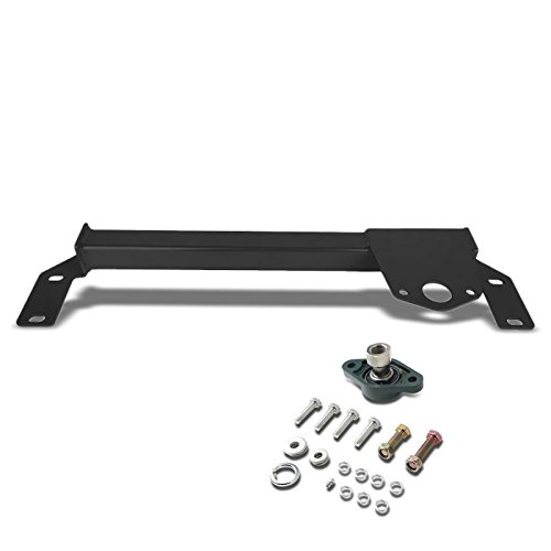 Black Steel Steering Stabilizer Brace//Bar For Dodge 94-02 Ram 1500//2500//3500 4WD