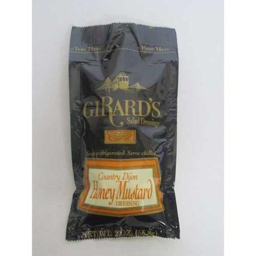 Girards Country Dijon Honey Mustard, 2 Ounce -- 48 per (Lemon Mustard)