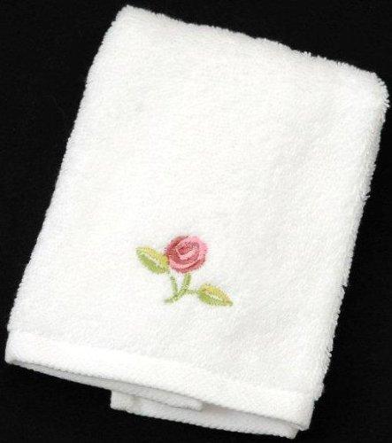 Face Cloth in a Rennie Mack Pink Rose Design
