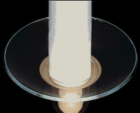 diy candle wax catcher. Glass Bobeche Candle Rings Wax Catcher  Amazon co uk Kitchen