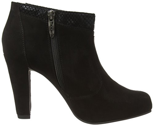 Tamaris 25052 - botas de material sintético mujer negro - Schwarz (Blk/Blk Struct 052)