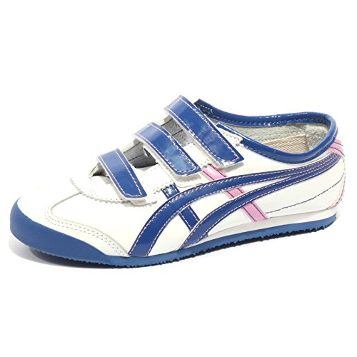 Rosa Rosa ONITSUKA Sneaker Bluette TIGER Bianco Bimba Bluette Kid Bianco B2452 Mexico Shoe wx7RCwZq