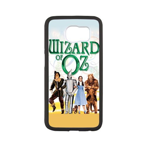 Fayruz- Personalized Protective Hard Textured Rubber Coated Case Cover for Samsung Galaxy S6 - The Wizard of Oz -S6O1415