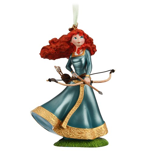 Disney Store Brave Merida Sketchbook Christmas Ornament Figurine