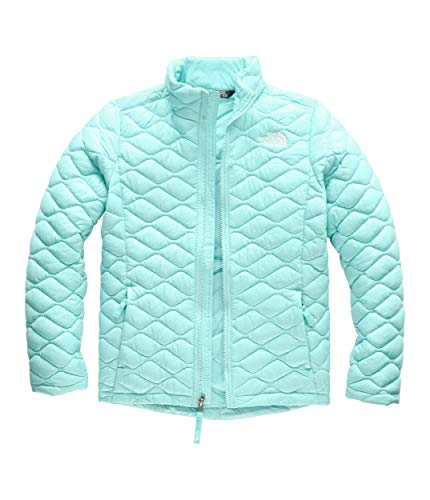 The North Face Girls' Thermoball Full Zip, Mint Blue, Small (Childrens North Face Coat)