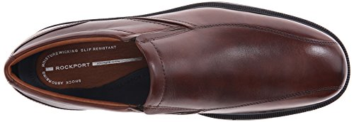 Para hombre Rockport Dressports Luxe – Bike Toe – Zapatos con Punta Marrón (New Brown)