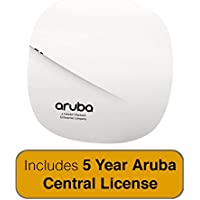 Aruba Networks Instant AP-207 Wireless Access Point, 802.11n/ac, 2x2:2, Dual Radio, Integrated Antenna with 5 Year Aruba Central