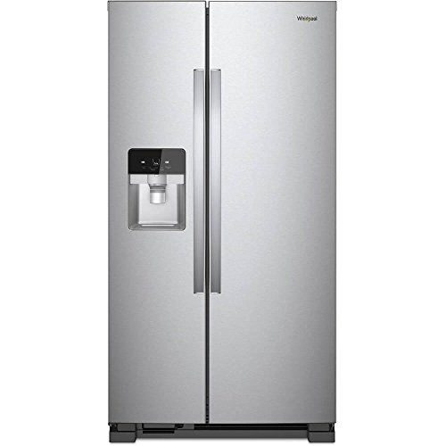 Whirlpool WRS321SDHZ 21 Cu. Ft. Stainless Side-by-Side Refrigerator