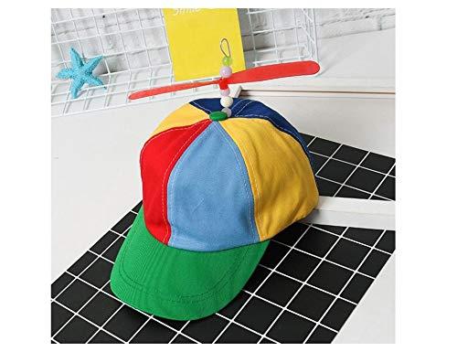 Cappello per Adulto da Parasole Esterno Esta.east 56-58cm Berretto da Baseball con Elica Color Arcobaleno