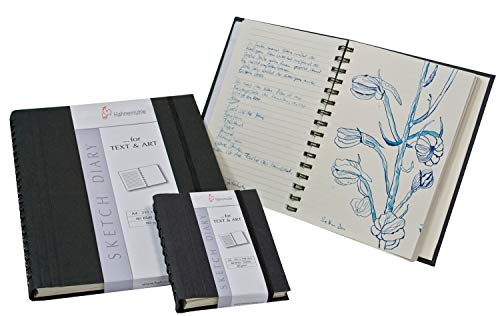 (Hahnemuhle Sketch Diary A5 (8.3x5.8 inches) 120gsm 60 Sheets/120 Pages)