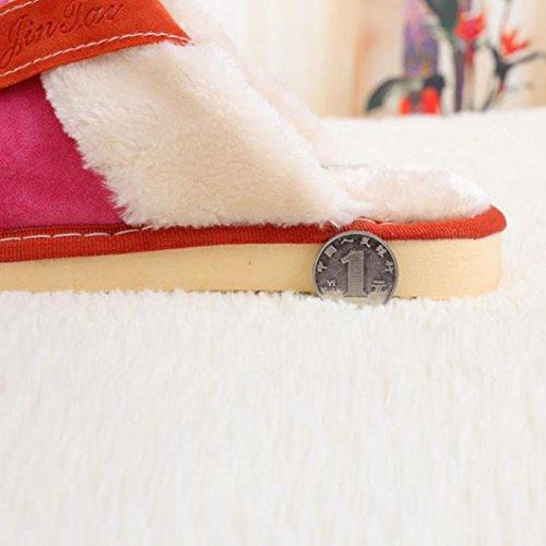... Pantofole Da Donna Morbide Calde Coperte Da Sole In Cotone Per Uomo  Sunfei Casa Scarpe Antiscivolo ed072e1e1e0