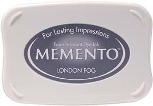 Tsukineko Full-Size Memento Fade Resistant Inkpad, London Fog