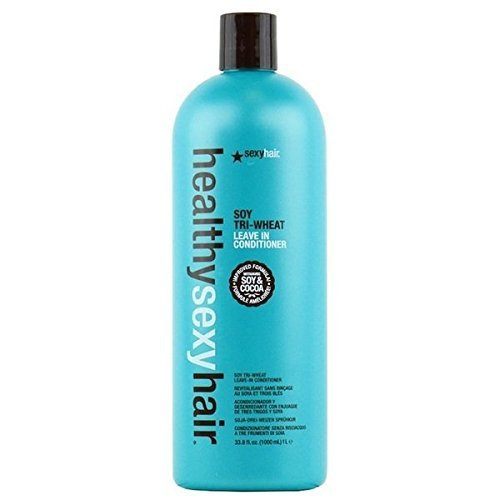 - Healthy Sexy Hair Soy Tri-Wheat Leave In Conditioner 33.8 oz (1 Liter)