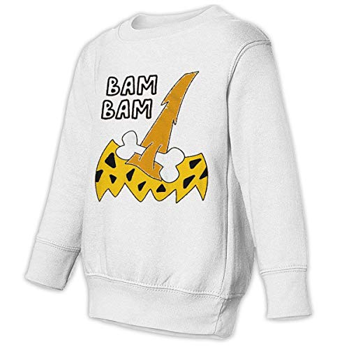 (Youth Bam Bam Costume Halloween Funny Family\r\nFree\r\nSweatshirt)