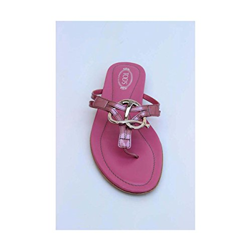 Tods Femme XXW0II07810RM0M805 Rose Cuir Sandales