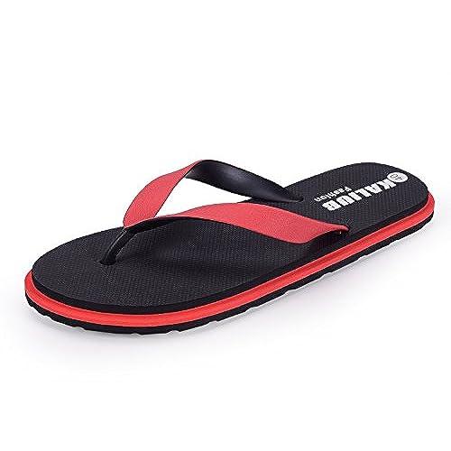 Red verano hombres zapatos/Zapatos de malla/Zapatos casuales transpirables-A Longitud del pie=26.8CM(10.6Inch) Fr91rHydBM