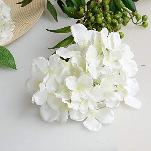 NMDCDH Flores Artificiales Boda Hortensia Artificial Flor de Seda ...