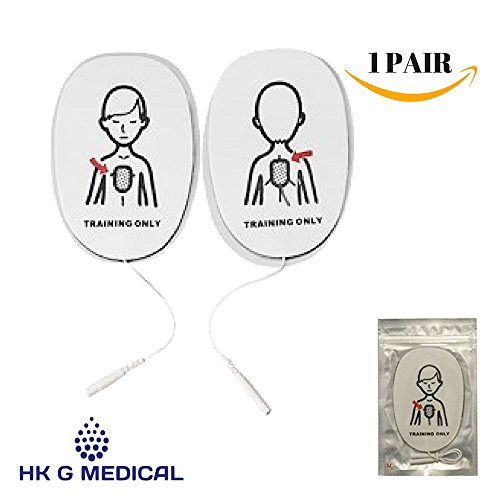 Replacement Pads Child for WNL AED (Replacement Adult Training Pads)