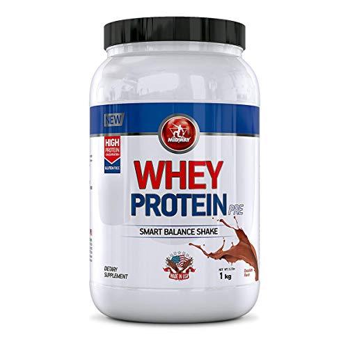 Whey Protein Pré Midway 1Kg - Chocolate - Único