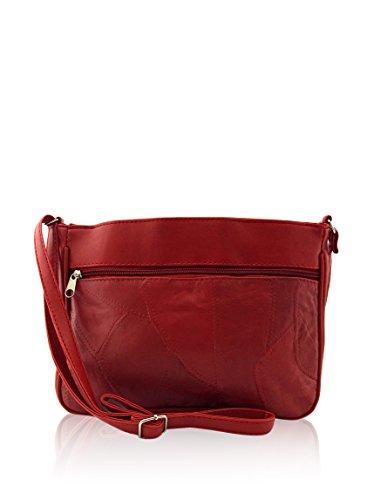 Tienda Calidad Basic Collection Bolsos bandolera, 30 cm, Rojo