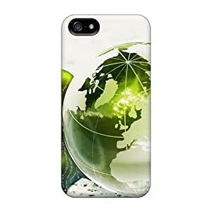 Luoxunmobile333 Snap On Hard Cases Covers Green World Protector For Ipod Touch 4