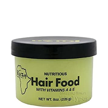 kuza nutritious hair food w/vitamin A & E ...