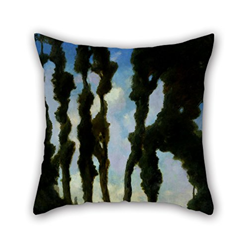 The Oil Painting Charles Walter Stetson - After The Bath Cushion Cases Of 20 X 20 Inches / 50 By 50 Cm Decoration Gift For Kids Room Home Theater Bedding Car Bench Home (twin Sides) (Ecru Gingham Checks)