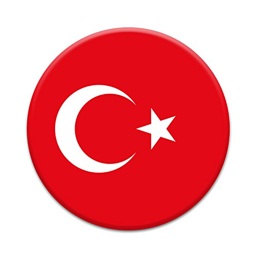 2X Sticker Set - Turkish Flag - for Phone Grip Stent Cell Phones Tablets (Stickers Only)