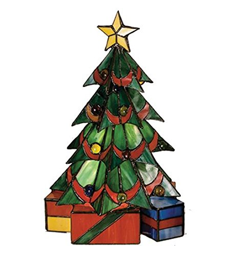 Meyda Tiffany 12961 Christmas Tree Accent Lamp - 16