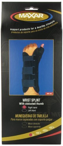 MAXAR WRS-203R Small Wrist Splint with Abducted Thumb Right Hand by ITA-MED CO