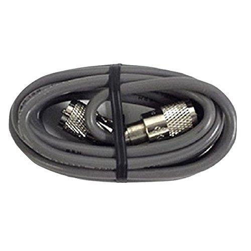 6` FOOT CB HAM RADIO ANTENNA COAX CABLE RG8X KALIBUR ENDS