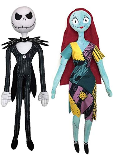 "Walgreens Nightmare Before Christmas Jack & Sally 24"" for sale  Delivered anywhere in USA"
