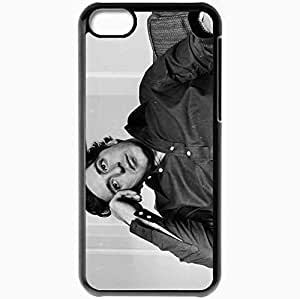 Personalized iPhone 5C Cell phone Case/Cover Skin Al Pacino Youth Brooding Man Celebrity Black by icecream design