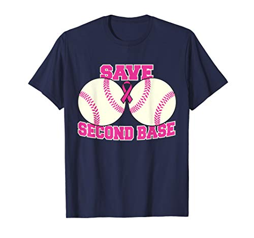 Breast Cancer Awareness Tshirt Survivor Save The 2nd Base