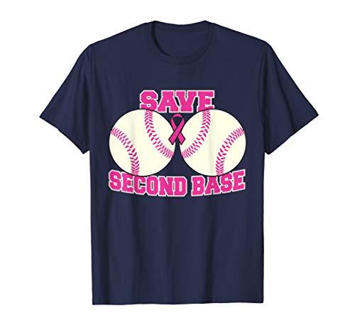 Breast Cancer Awareness Tshirt Survivor Save The 2nd Base ()