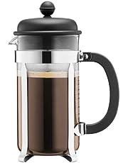 BODUM Cafeteria 8 Cup French Press Coffee Maker, Black, 1.0 l, 34 oz