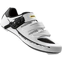 Mavic Ksyrium Elite II Maxi Fit Road Shoes - WHITE/BLACK, 10.5 UK (US 11)