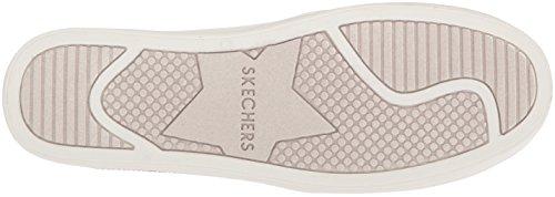 para Plateado Glitzy Sil Double Cordones Mujer Skechers Silver Zapatillas sin Up GAL qAn0H4