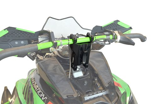 PowerMadd 45591 Black 4''-6'' Adjustable Pivot Riser