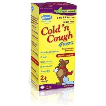 Toux rhume n 4 Kids - 1 Vial, (Hyland)
