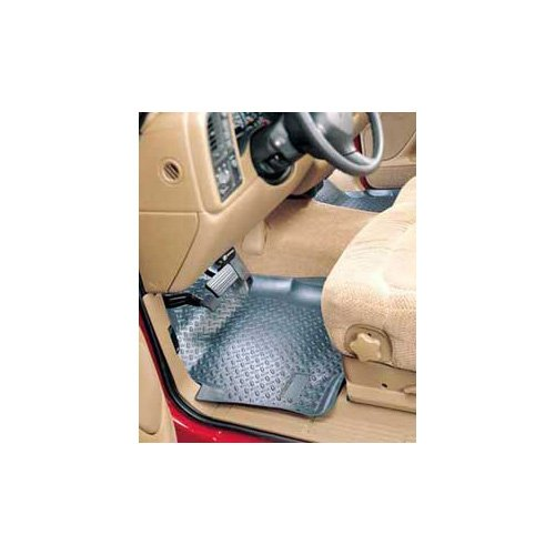- Husky Liners Custom Fit Molded Front Floor Liner for Select Dodge Ram Models (Grey)