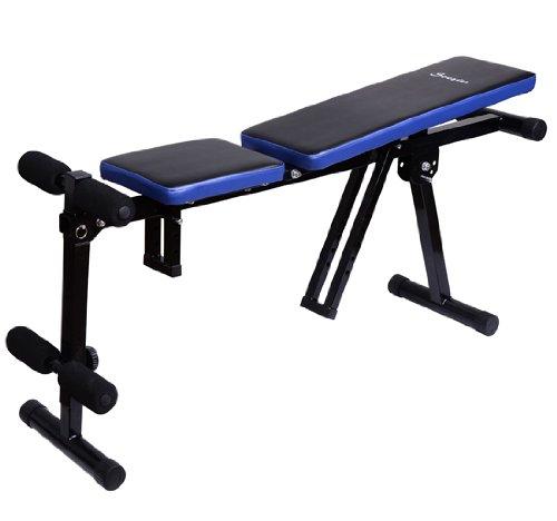 Hoist Gym Equipment Dubai: Soozier Multi-Use Dumbbell Exercise Weight Bench