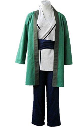 Naruto Cosplay Costume – Tsunade Kimono 4Pcs Set