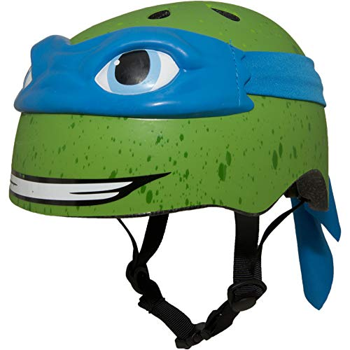 Teenage Mutant Ninja Turtles Youth Leonardo Helmet, Blue